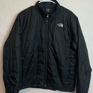 The North Face Men's Black Puffy Jacket Size Large
